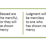 Grace and mercy rejoice and triumph over judgment