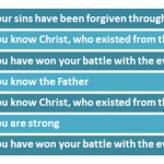 7 reasons the Apostle John wrote to you