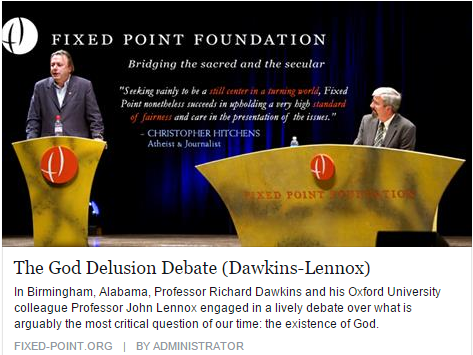 """god delusion debate essay My august 1 essay, """"philosophy and faith,"""" was primarily addressed to  i will  focus on dawkins' arguments in his 2006 book, """"the god delusion"""" 'the god  delusion' does not meet the standards of rationality that a topic as."""