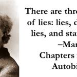3 Kinds of lies: lies, damn lies, and religion
