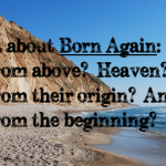 What about born again?