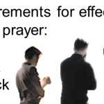 3 requirements for effectual fervent prayer: ask, seek, and knock