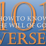 101 verses on how to know what is the will of God