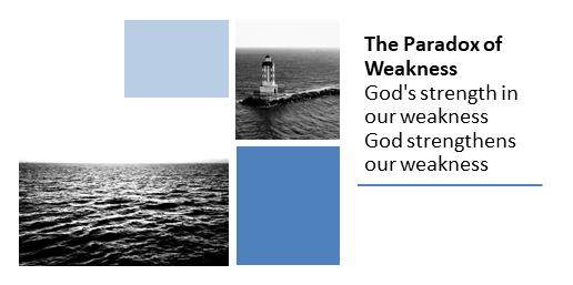 The Paradox of Weakness: God's strength in our weakness and God strengthens our weakness