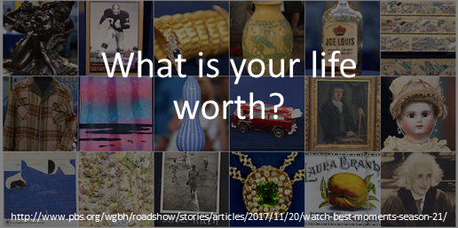 What is your life worth?